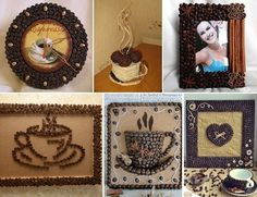 DIY Coffee Beans Art