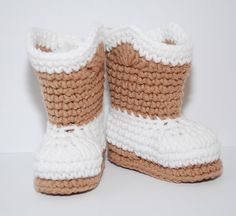 FREE CROCHET PATTERN FOR CUSTOM MADE COWBOY BABY BOOTIES THAT WILL FIT UP TO ???