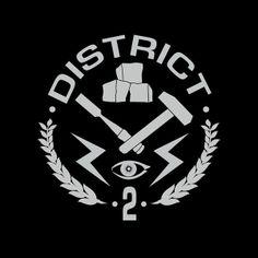 Camiseta The Hunger Games (Los juegos del hambre). Distrito 2