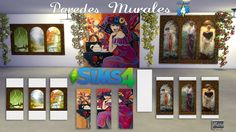El Taller de Mane:   Paredes con murales        4Shared  MediaFire