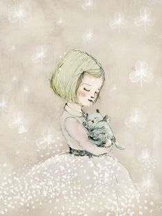 Paola Zakimi,  Girl and Cat