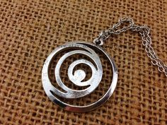 silver Lorien Legacies necklace I Am Number Four by ruthdreamy, $4.60