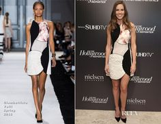 Hilary Swank In Giambattista Valli – The Hollywoood Reporter Celebrates The 35 Most Powerful People In Media