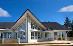 """Финский дом - модель """"Kuusamo164"""" с фотографиями"""