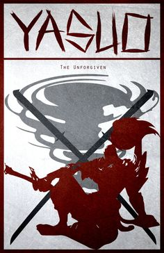 Yasuo 11 X 17 League of Legends Poster by SDcorp on Etsy League Of Legends Poster, League Of Legends Yasuo, Lol League Of Legends, Minimalist Wallpaper, Minimalist Poster, League Champs, Character Art, Character Design, Medieval Armor