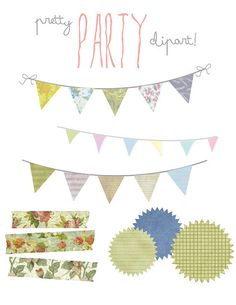free blog clipart: party_clipart by amorby  http://amymorby.com