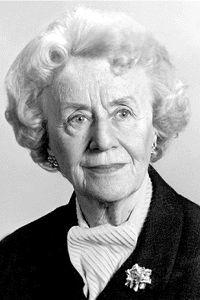 Thérèse Casgrain, militante pour les droits des femmes.Année: 1980. © Lidec Auteur: Inconnu.