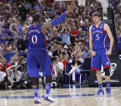 Great games by these two guys yesterday--Thomas Robinson and Jeff Withey of Kansas.  Movin' on to the Final Four.