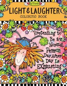 Light & Laughter Coloring Book