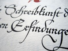 From a book of calligraphy by Hermann Zapf