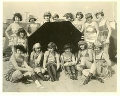 1920s bathing beauties…