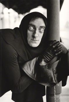 Marty Feldman by Terry O'Neill bromide print, 1974 from Young Frankenstein (one of my favorite movies ever). Marty Feldman, Terry O Neill, Movie Stars, Movie Tv, 6 Month Baby Picture Ideas, Young Frankenstein, Looks Black, Steve Mcqueen, Gene Kelly