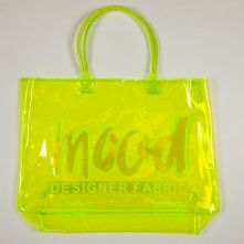 Neon Green Vinyl Beach Bag | MOOD | Pinterest | Neon green, Neon ...