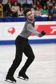 Ivan Righini of Italy competes in the Men's Free Skating during ISU World Figure Skating Championships at Saitama Super Arena on March 28, 2014 in Saitama, Japan.