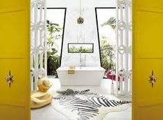 Amazing and trendy bathroom design ideas. Here are 145 bathroom decor designs and organization ideas. More bathroom decor i. Bathroom Furniture, Bathroom Interior, Diy Room Divider, Divider Ideas, Bathroom Images, Bathroom Designs, Bathroom Ideas, Palm Springs Style, Space Dividers