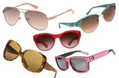 2013 Promises Pops of Color - Spring '13 Sunglasses Magazine Urban Style issue