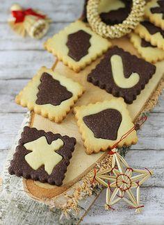 German Checkerboard Cookies