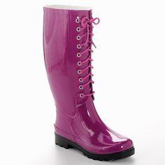 Aqua Stop Grace Rain Boots | $23.99 | 60% Off