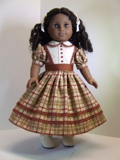 Fall Dress for American Girl Cecile by agseamstress on Etsy. $46.00.