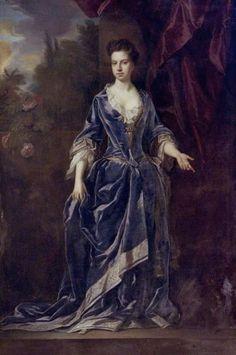 1694 Lady Amabel Grey (1673–1757), Daughter of Henry Grey, Duke of Kent by John Closterman