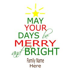 SVG - May your Days Be Merry and Bright - Christmas - DXF - Pallet Sign Design - Christmas sign design - Pallet Sign - Christmas Decor