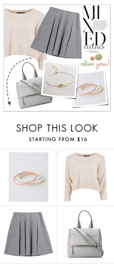 """""""Oliveyewjewelry"""" by water-polo ❤ liked on Polyvore featuring Fall Winter Spring Summer, Givenchy, polyvoreeditorial, handmadejewelry and oliveyew"""