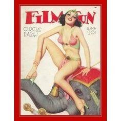 Vintage Circus Pin-up
