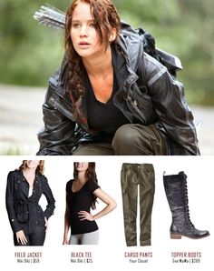 How to make the hunger games katniss everdeen halloween costume hunger games katniss everdeen costume solutioingenieria Image collections