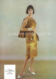 French Vogue 1962 Magazine Advertisement Ad Guy by paperdollgirls, $11.00
