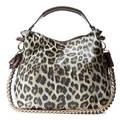 New Trending Make Up Bags: Handbag Republic Womens Fashion PU Designer Handbag Shoulder Bag Interlocking Chain Handle Stylish Tote (Leopard Tan). Handbag Republic Womens Fashion PU Designer Handbag Shoulder Bag Interlocking Chain Handle Stylish Tote (Leopard Tan)  Special Offer: $39.00  399 Reviews Product Details: Product Sku: Q-0004-3 Lightweight, Travel Friendly (1 lb.) Easy to Clean and Maintain Multiple Colors Available...