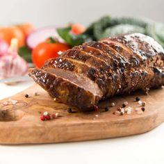 Filets de porc au miel et au vinaigre balsamique Atkins Recipes, Low Carb Recipes, Cooking Recipes, Pork Tenderloin Recipes, Pork Recipes, Entree Recipes, Balsamic Pork Loins, Low Carb Diet, Food And Drink