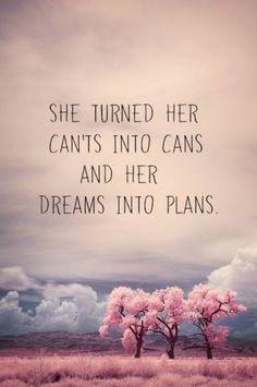 Beautiful dreams can come true!