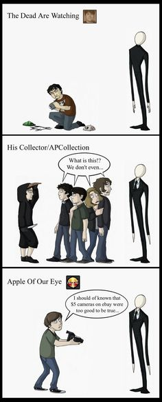 The Slender Man Mythos Part 6: TDAW, HC/APC, AOOE by Expression on DeviantArt