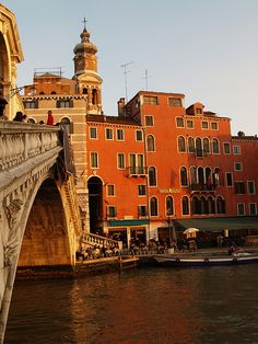 Rialto Hotel - Venice, Italy -  2 nights here was not long enough