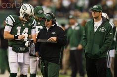 Scene on Jets sideline (December 2, 2012)