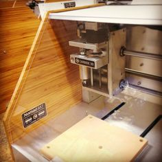 Designed, engineered and assembled with locally machined precision parts in California. The desktop CNC machine. Built to Build. Desktop Cnc, Cnc Machine, Made In America, Engineering, California, Storage, Instagram Posts, Design, Home Decor