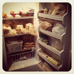 4 Weeks to a More Organized Home: Assignment #3 Update (cleaning out freezer!)