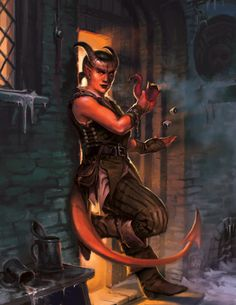 Guido Kuip: Advanced Races: Tiefling - Kobold Press Pathfinder RPG