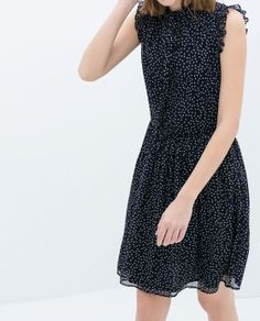 Image 2 of DRESS WITH BOW from Zara