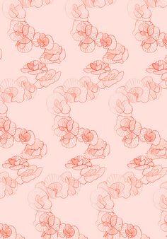 Ideas Wallpaper Flowers Pink Pattern Design For 2019 Pink Patterns, Pretty Patterns, Textile Patterns, Flower Patterns, Textile Design, Textiles, Flower Pattern Design, Surface Pattern Design, Pattern Paper