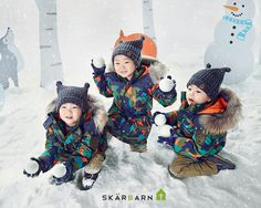song triplets-Winter Collection  2015 by Skarbarn
