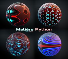 VonC Code : Python Material : C4D