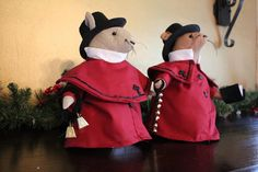 Christmas Deacon Mice and their Merry Mice by PenelopesEmporium, $29.00