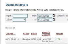 I am getting paid daily at ACX and here is proof of my latest withdrawal. This is not a scam and I love making money online with Ad Click Xpress.Here is my Withdrawal Proof from AdClickXpress. I get paid daily and I can withdraw daily. Online income is possible with ACX, who is definitely paying - no scam here.I WORK FROM HOME less than 10 minutes and I manage to cover my LOW SALARY INCOME.