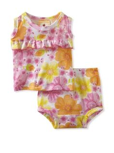 81% OFF Country Baby Girl Ruffle Tank And Bloomer Set (Country Flowers)