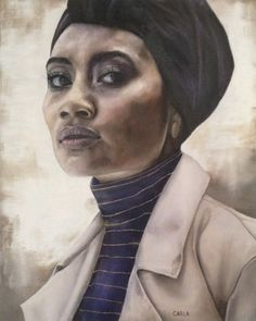 Yuna - July 2017 - Oil on canvas  I did this painting of the Malaysian-born singer called Yuna based off a photograph taken by Aaron Feaver.