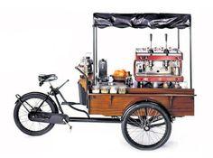 Das mobile Straßencafé