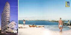 The latest #luxury development across #BiscayneBay is #AriaontheBay. http://lauge.us/aria/ #RealEstate #Miami #Edgewater #MidtownMiami #DowntownMiami