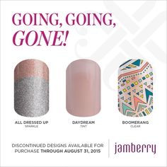 These wraps are going to Boca at the end of the month! They're retiring! Get them now! JenniferKlapper.Jamberry.com
