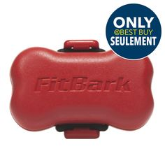 FitBark Wireless Dog Activity Monitor - True Red : Pet Wearables - Best Buy Canada